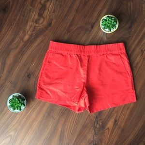 "J. Crew Coral 3"" Boardwalk Shorts - Size 2"